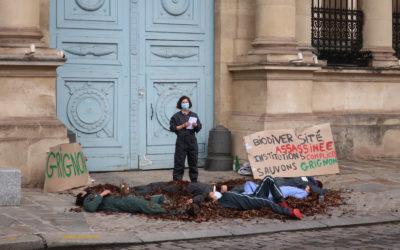 Die-in du 25 mars 2021 dans Paris